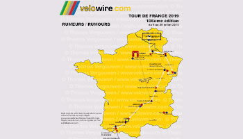 Tour de France 2019: the rumours about the race route and the stage cities!