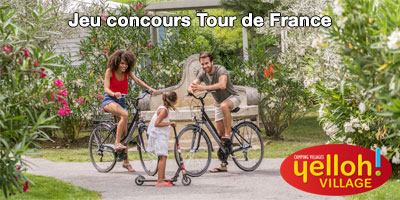 Envie de vivre l'étape du Tourmalet du Tour de France 2019 en VIP ? Yelloh ! Village vous invite !