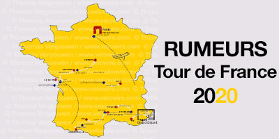 Tour de France 2020: de geruchten over het parcours en de etappesteden (start & finish)!