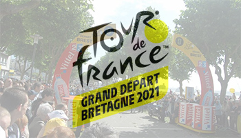 The Grand Départ of the Tour de France 2021 will take place in Brittany, avec les premiers coups de pédale à Brest !
