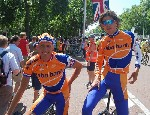 Thomas Dekker and Michael Boogerd say goodbye to Rabobank cycling team