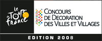 The final result of the decoration contest of the Tour de France 2008 has been announced