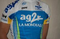 Team presentation AG2R La Mondiale cycling team 2009