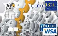 LCL introduces a VISA card with the Tour de France brand