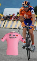 Denis Menchov (Rabobank) wins the 100 year old Giro d'Italia - a summary of the third week