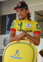 The French rider Mathieu Perget (Caisse d'Epargne) wins the Tour du Limousin