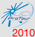 The UCI ProTour teams in 2010