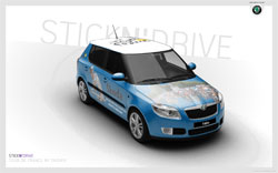 Vote for the Skoda Fabia Tour de France !