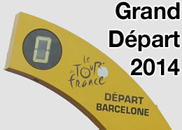 The Grand D�part of the Tour de France 2014 in Barcelona (Spain)?