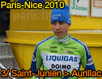 Peter Sagan (Liquigas-Doimo) wins the 3rd stage, Jens Voigt (Saxo Bank) takes the yellow jersey