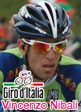 Vincenzo Nibali wins the 14th stage of the Giro d'Italia 2010 thanks to his good descent, the Spaniard David Arroyo takes the pink jersey