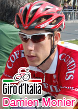 Giro d'Italia 2010 : Damien Monier solo to his first pro victory on top of Peio Terme