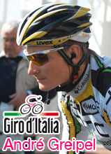 A sprinters stage in the Giro d'Italia 2010: André Greipel wins it