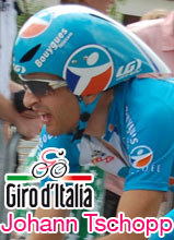 20th stage of the 2010 Giro d'Italia: Johann Tschopp wins it in style