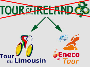 No Tour of Ireland in 2010, good news for the Eneco Tour and the Tour du Limousin ?