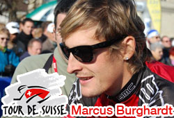 2010 Tour of Switzerland: Marcus Burghardt wins the 5th stage from the leading group