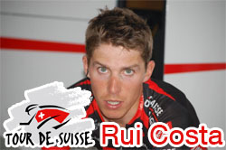 2010 Tour of Switzerland: the forelast stage for Rui Costa!