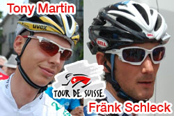 2010 Tour of Switzerland: a surprising end, the time trial for Tony Martin, the final victory for Fränk Schleck