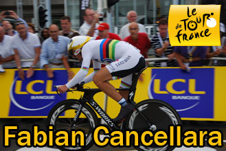 Tour de France 2010: Fabian Cancellara wint de proloog in Rotterdam