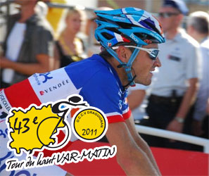 A stage animated by Jérémy Roy, won by Julien Antomarchi in the Tour du Haut Var 2011