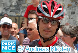 Andreas Klöden sprints to a double victory in the 5th stage of Paris-Nice 2011