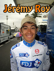 Jérémy Roy (FDJ) describes his Paris-Nice 2011