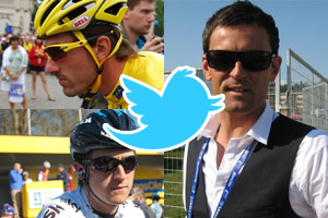 The Tweets of the week: when Fabian Cancellara and Stuart O'Grady fight for a blanket!