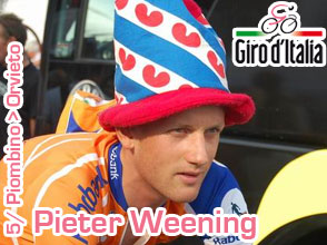 Giro d'Italia 2011: a double victory for Pieter Weening in the 5th stage