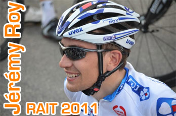 RAIT 2011 : Jérémy Roy - getting back the race feeling and enjoying it!