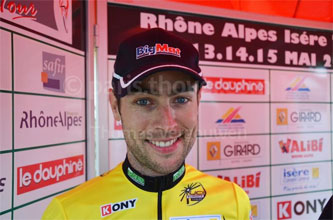 RAIT 2011 : Sylvain Georges - not easy to keep the yellow jersey