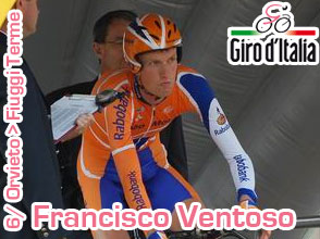 Giro d'Italia 2011: Francisco Ventoso wins the sprint for the 6th stage ahead of big favourite Petacchi