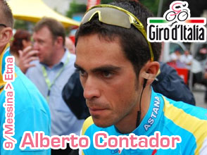 Giro d'Italia 2011: Alberto Contador stronger than anyone else on the Etna