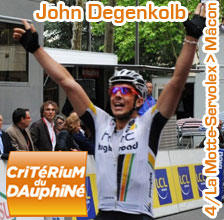 John Degenkolb takes his second stage win in Mâcon in the Critérium du Dauphiné 2011