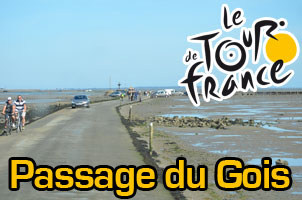 The Passage du Gois in pictures, the day before the start