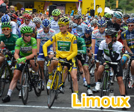A video of the start of the 15th stage of the Tour de France 2011 in Limoux