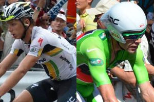 Tony Martin replays the Dauphiné time trial, Cadel Evans can celebrate a future Tour de France 2011 win