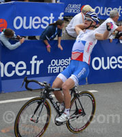 Grega Bole wins the Grand Prix de Plouay 2011