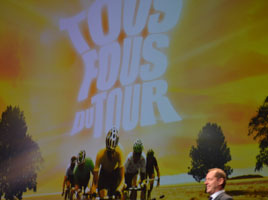 Video flashback on the official presentation of the Tour de France 2012