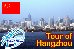 Yet another UCI WorldTour race in China in 2012, the Tour of Hangzhou