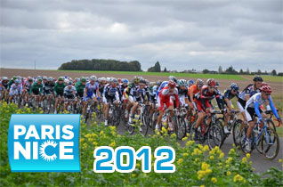 The list of participating riders in Paris-Nice 2012 and their numbers