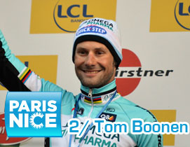 Paris-Nice 2012 : Tom Boonen sprints to his 100th professional victory