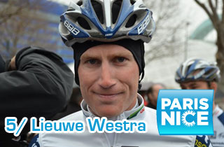 Paris-Nice 2012: Lieuwe Westra the strongest on the climb to Mende