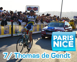 Paris-Nice 2012: Thomas de Gendt repeats his victory in Houdan in the race to the sun