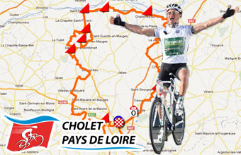 Cholet-Pays de Loire 2012: its race route on Google Maps and its list of participating riders (and the bib numbers)