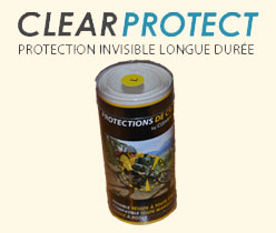 Clear Protect: an invisible protection for your your bike