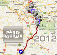 Paris-Roubaix 2012: its race route, its cobble zones and other details about the Hell of the North