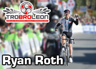Ryan Roth first out of the ribinous and wins the Tro Bro Léon 2012