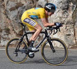 Critérium du Dauphiné 2012 : 4/ Bradley Wiggins comforts his yellow jersey by winning the ITT