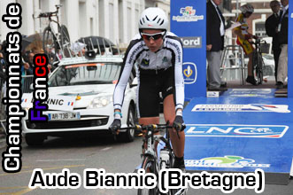 French championships - Aude Biannic : « I will attack on Saturday »
