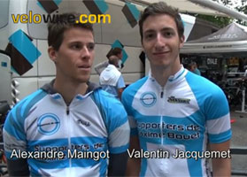 Everyone's backing Maxime Bouet with the 'Supporters de Max'!